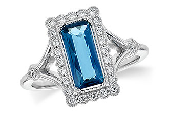 H217-69535: LDS RG 1.58 LONDON BLUE TOPAZ 1.75 TGW