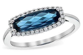 L217-68626: LDS RG 1.79 LONDON BLUE TOPAZ 1.90 TGW