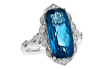 M217-64917: LDS RG 6.75 LONDON BLUE TOPAZ 6.90 TGW